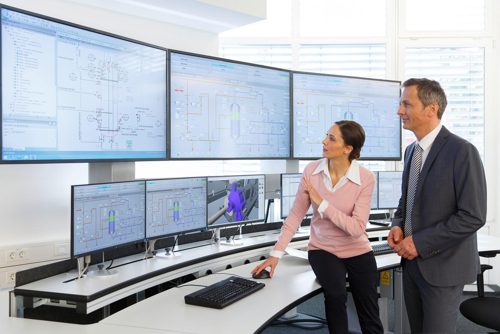 Mit Simit in der Version 9.1 ist nun auch die virtuelle Inbetriebnahme und das Operator-Training modularer Anlagen möglich.