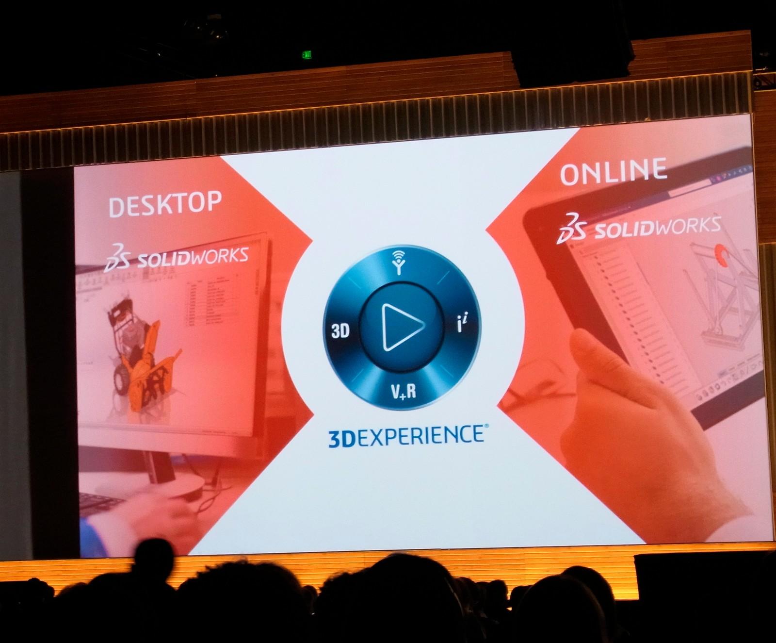 Neben der Desktop-Variante bietet Solidworks nun auch die Möglichkeit, online zu arbeiten, denn die Datenmenge steigt rasant – hervorgerufen u.a. durch die Voxel-orientierte Konstruktion von 3D-Bauteilen. Die Rechenleistung der Workstations steigt enor