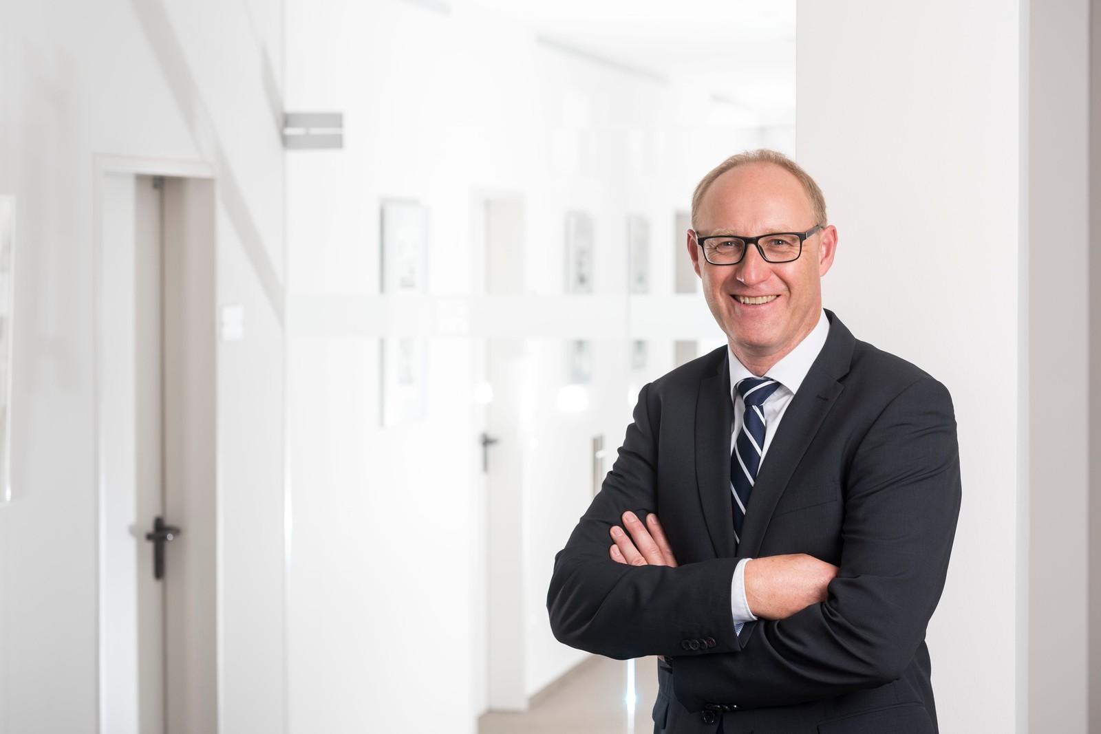 Torsten Blankenburg, Vorstand Technik bei Sieb&Meyer