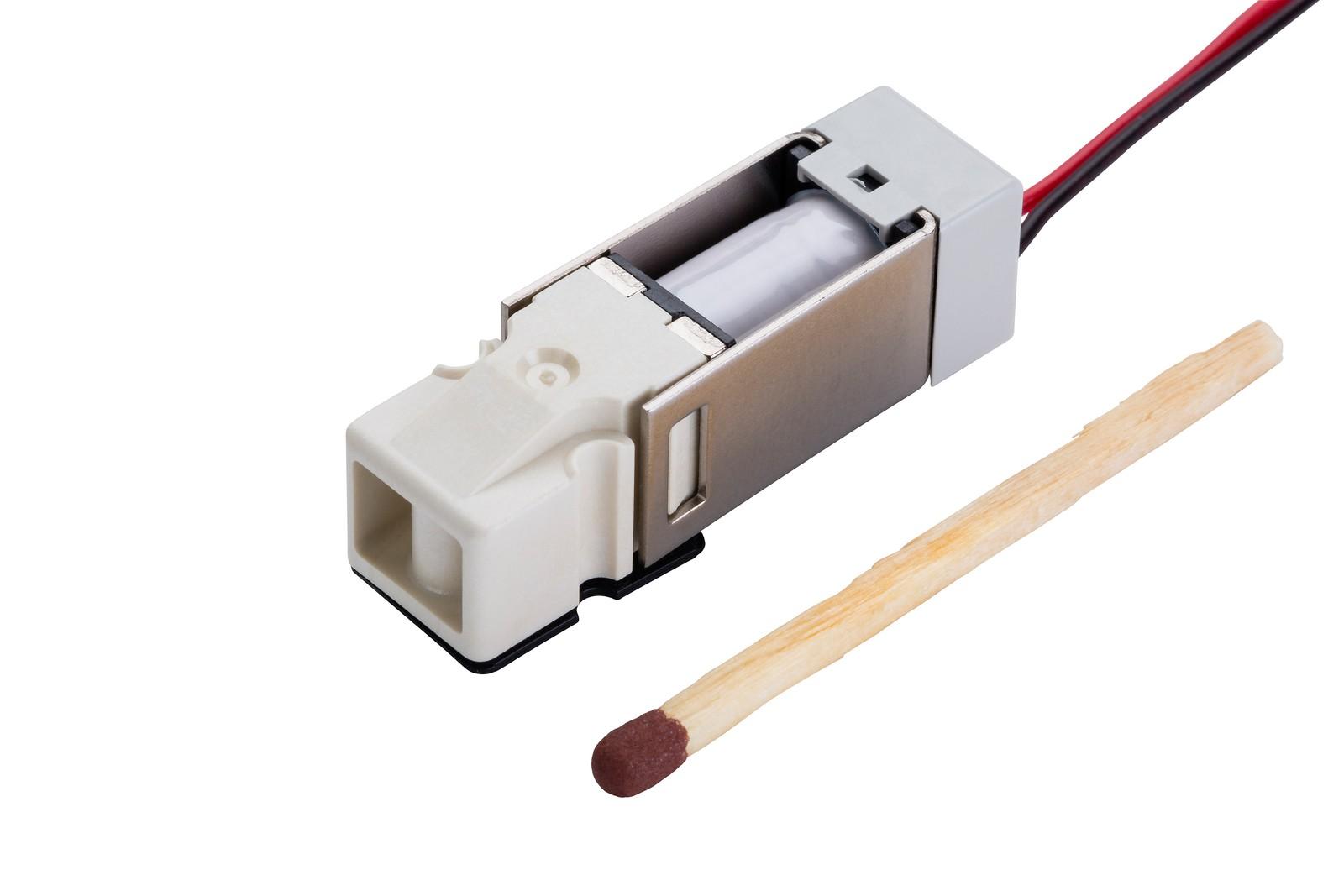 Die 2/2-Wege-Miniaturventile der Serie SX90-6G-3X: extrem klein und trotzdem sehr leistungsfähig.