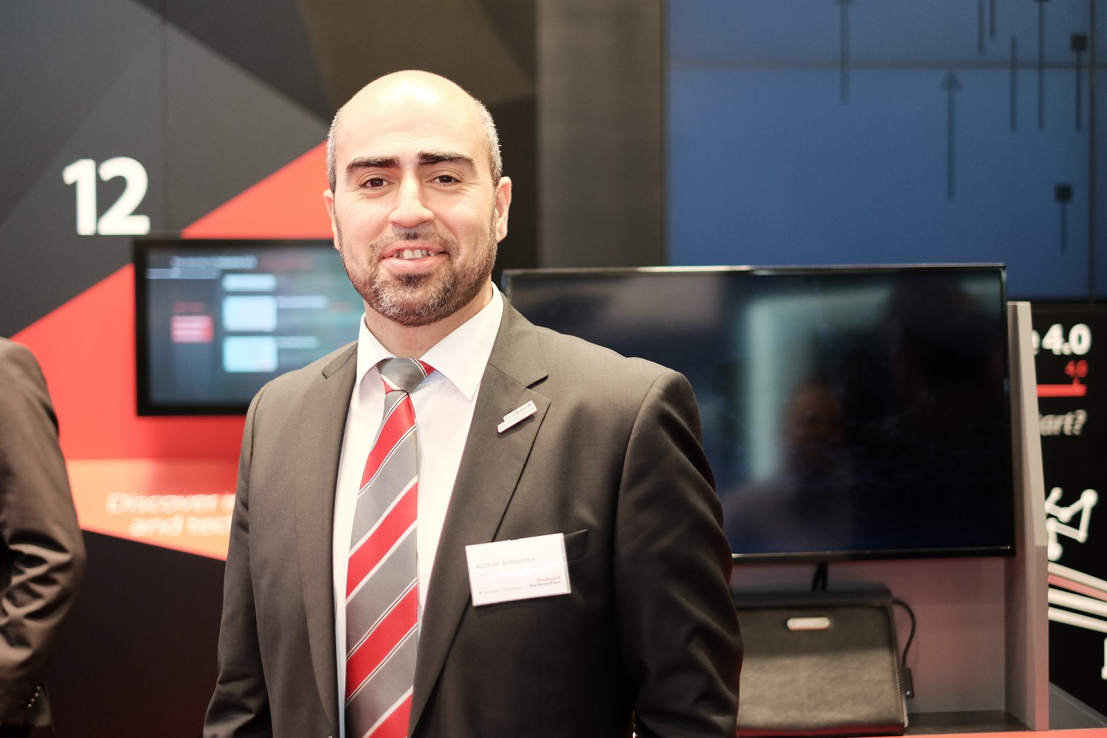 Ashkan Ashouriha, Solution Architect Integarted Architecture & Connected Enterprise bei Rockwell Automation.