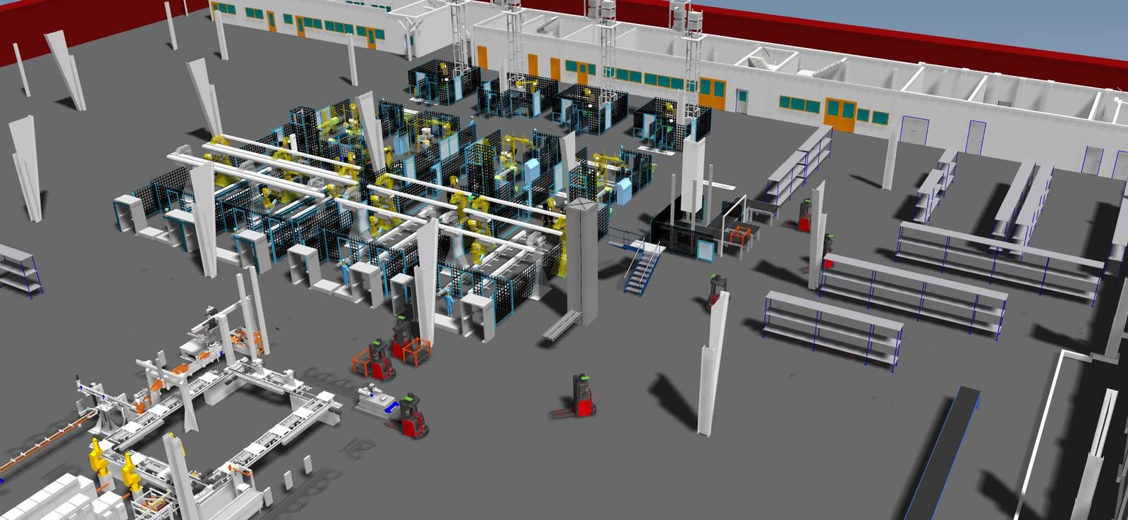 3D-Modelle unterstützen Engpässe zu prognostizieren, Ressourcen zu planen, Reihenfolgen und Losgrößen zu optimieren.