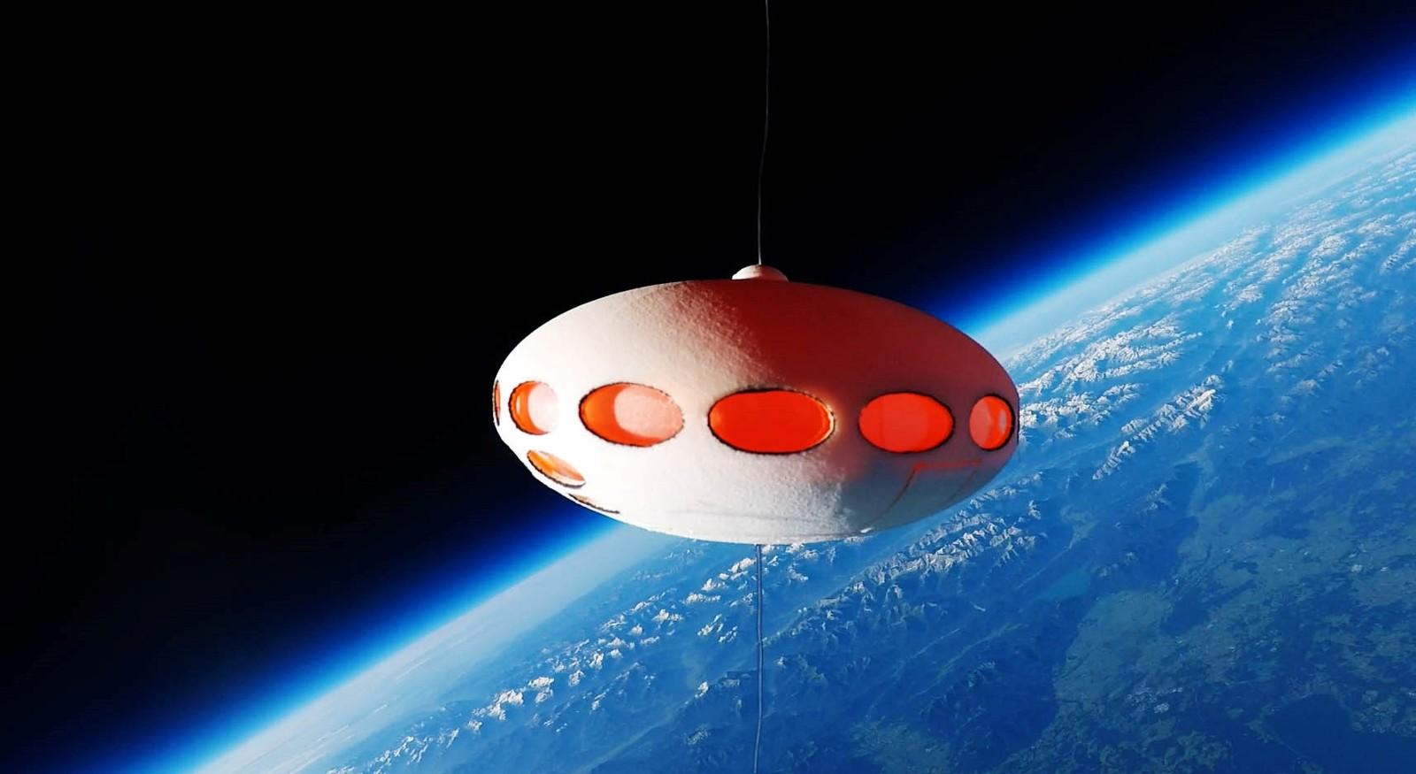 Futuro in der Stratosphäre