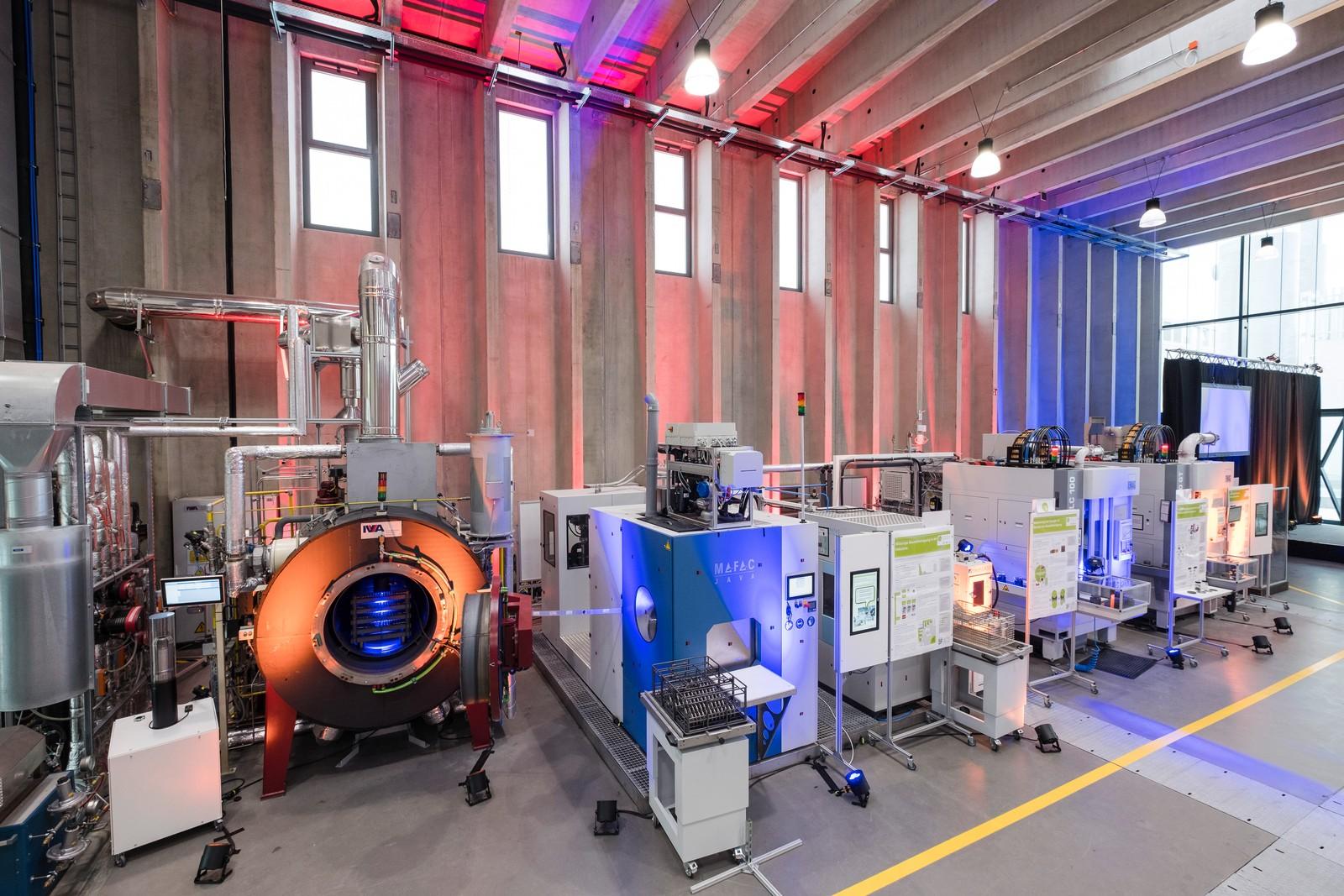 40 % weniger Energie verbraucht die ETA-Fabrik und erhöht damit die Energieeffizienz bei der Produktion von Serienbauteilen.