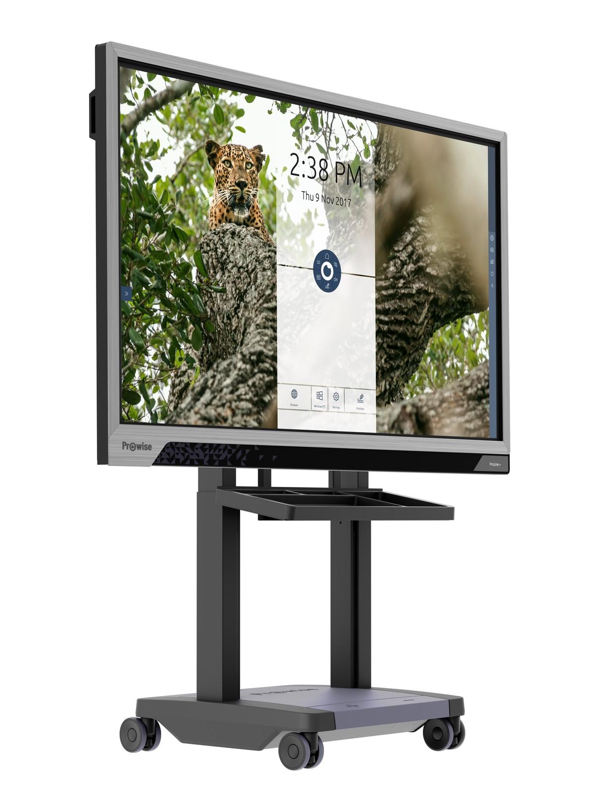 Die innovativen Touchscreens des niederländischen Unternehmens Prowise gibt es in immer mehr Klassenzimmer und Hörsäle und ermöglichen dort ein interaktives Lernen.
