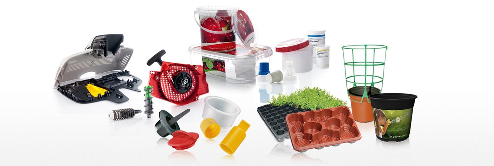 Reduce, Reuse und Recycle: Die drei Ansätze für nachhaltige Materialnutzung gelten bei Pöppelmann für die Produktion von Kunststoffprodukten aller Art.