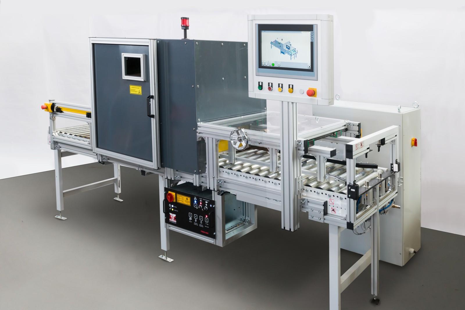 Die Markierungen der Isselguss Schwungräder mit Data Matrix Codes werden mit dem Faserlaser i103 L-G von SIC Marking professionell und schnell vorgenommen.