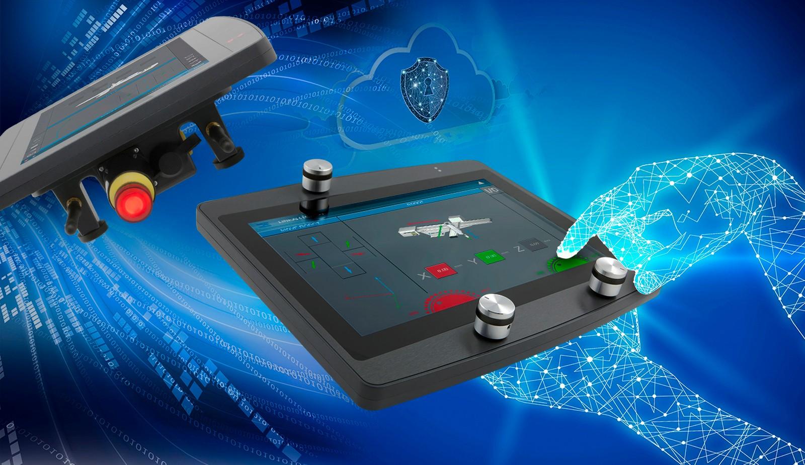 Die wireless Bedienpanels von Sigmatek bieten den Nutzern Bedienfreiheit und sorgen für Effizienz.