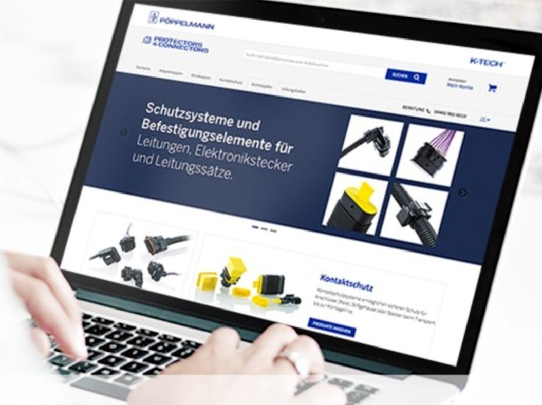 Protectors4Connectors: Umfangreiches Katalogprogramm an Schutzlösungen und Befestigungselementen von Pöppelmann K-Tech – im Webshop sofort verfügbar.