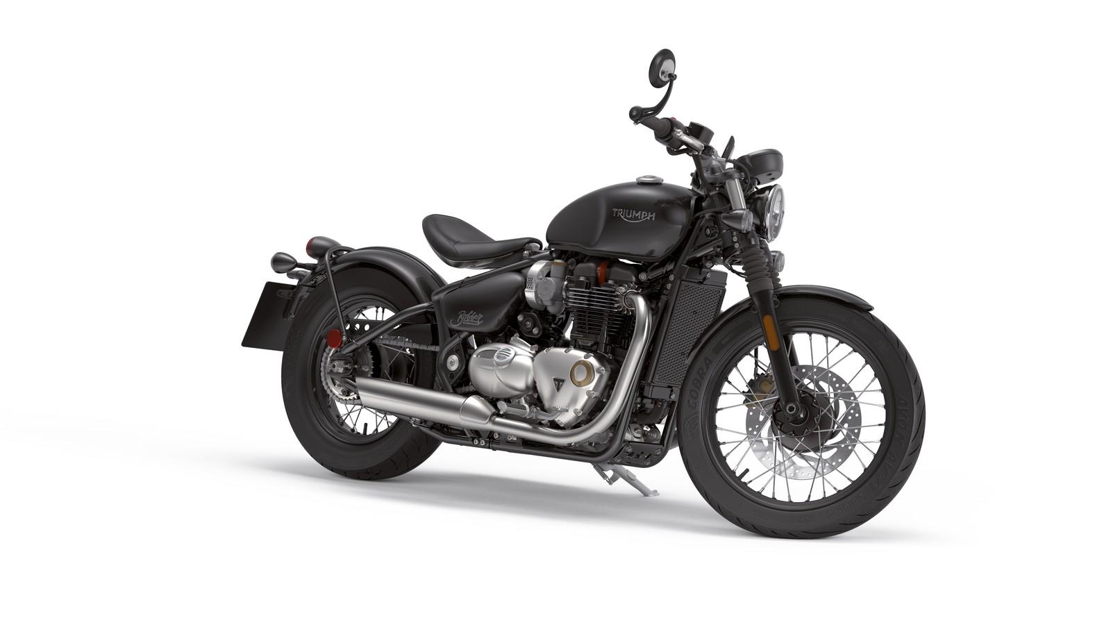 Die Motorräder von Triumph vereinen in einem markanten Design verschiedene Stilelemente von Motorrädern der ersten Stunde mit zweckmäßiger Technik und echter Leidenschaft fürs Motorradfahren der Zukunft.
