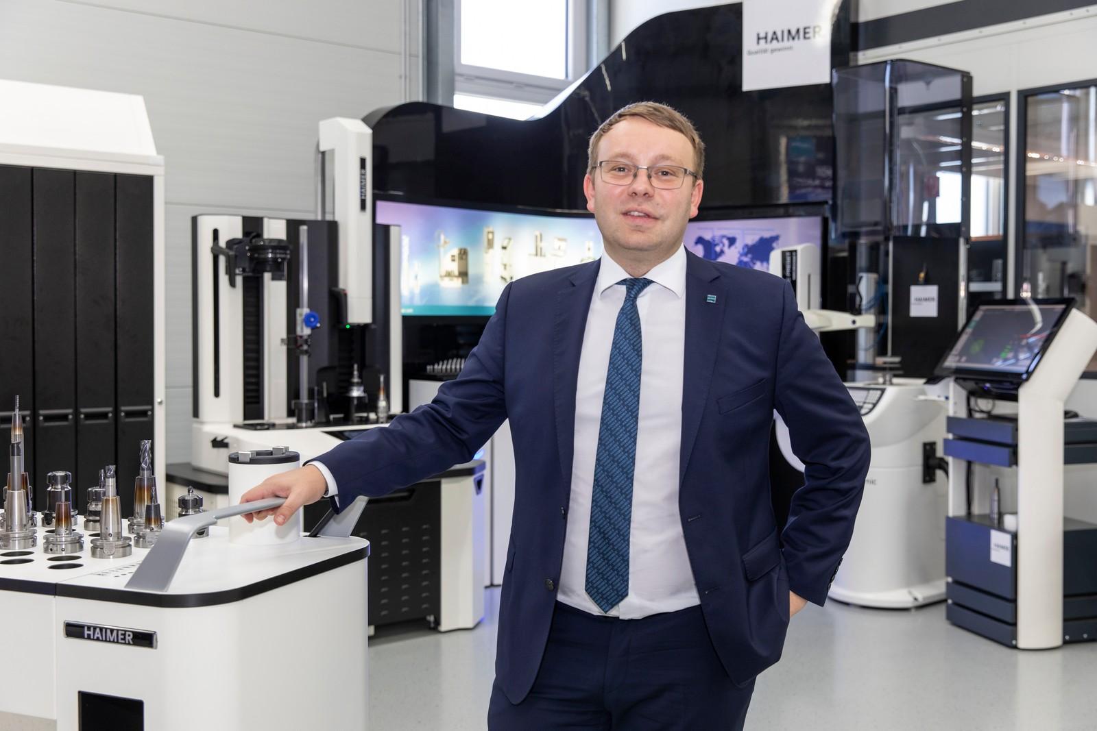 """Haimer-Geschäftsführer Andreas Haimer: """"Mit dem DAC wollen wir die Digitalisierung im Werkzeugmanagement auch für klein- und mittelständische Unternehmen umsetzbar machen."""""""