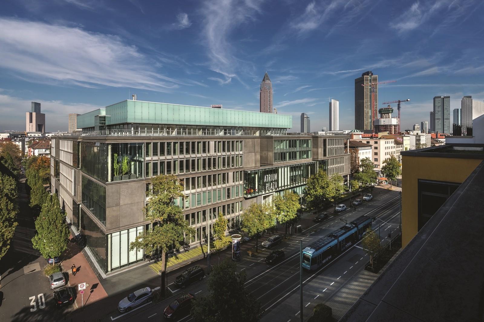 Die neue Deutschland-Zentrale von RS Components in Frankfurt.