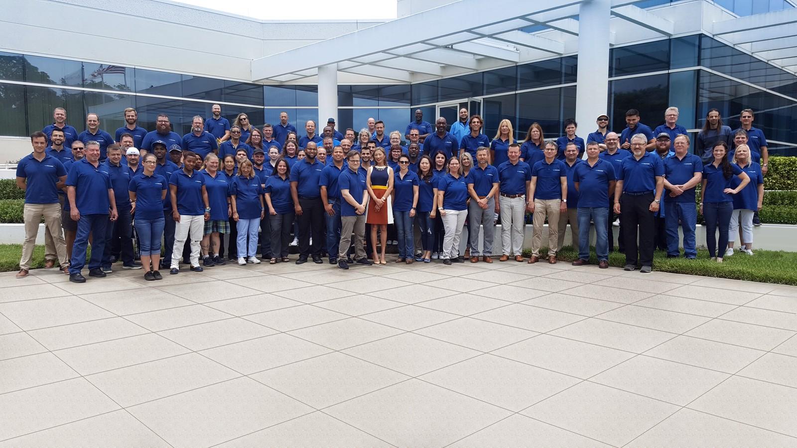 Das Faulhaber Micromo LLC Team: Ziel der Integration ist es, gemeinsam unter einem Namen und einer Vision zu wachsen.