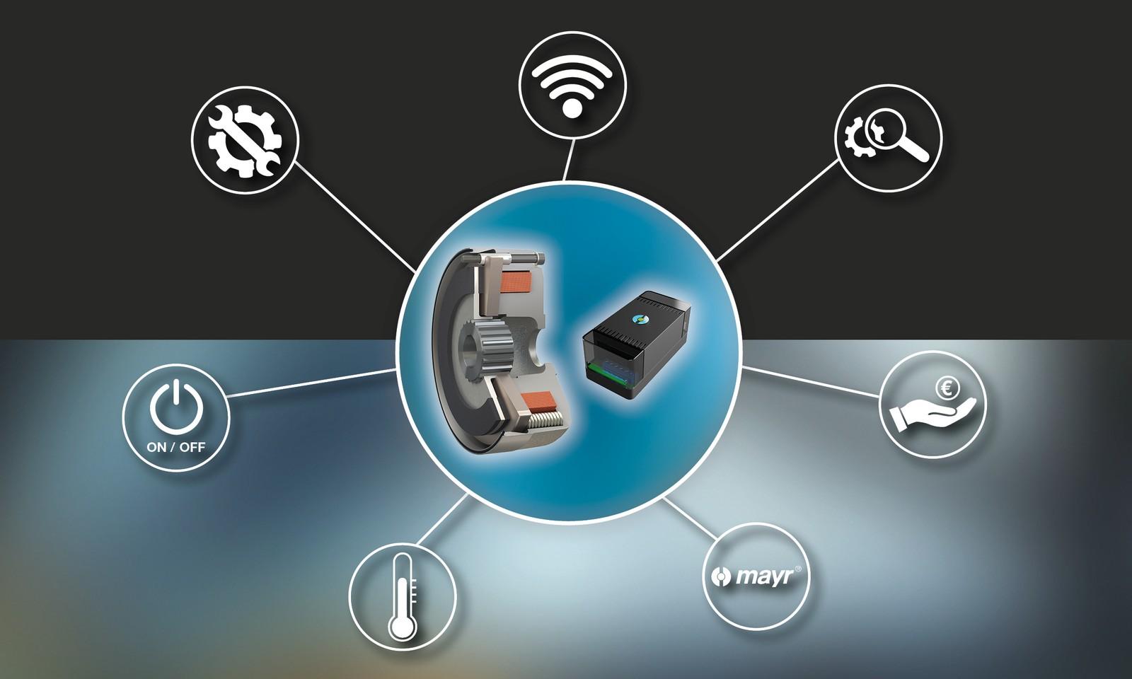 Intelligentes Überwachungsmodul für die Zukunft des Bremsenmonitorings: Neben dem reinen Signal liefert der Roba-Brake-Checker Daten. Sicherheit wird damit sichtbar und Wartung planbar.