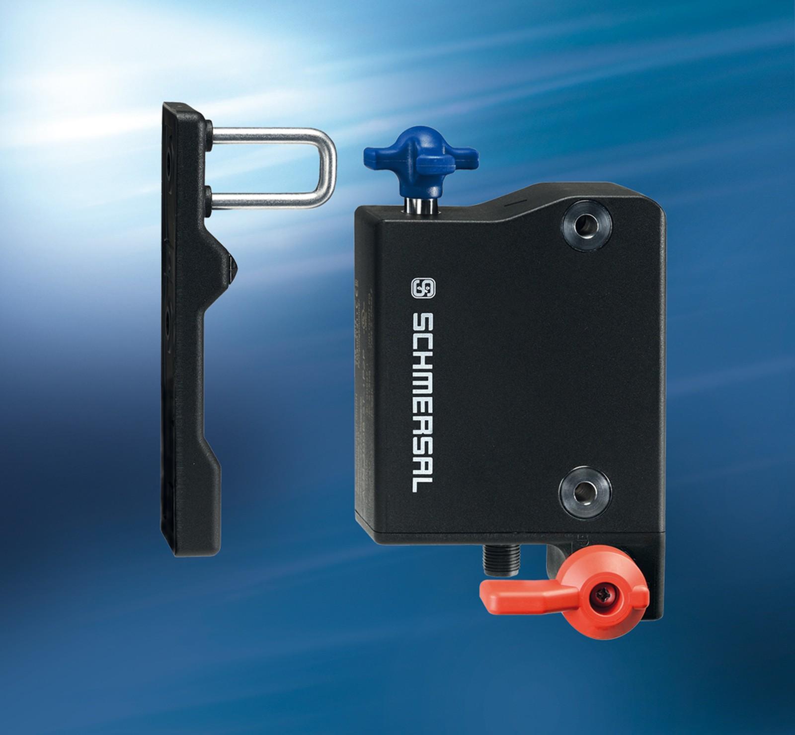 Schmersal produziert erstmals AZM300 mit innovativer Plasma-SealTight-Technologie_ Neues Herstellungsverfahren von Kunststoff-Metall-Verbunden wird in erster industrieller Anwendung erprobt.