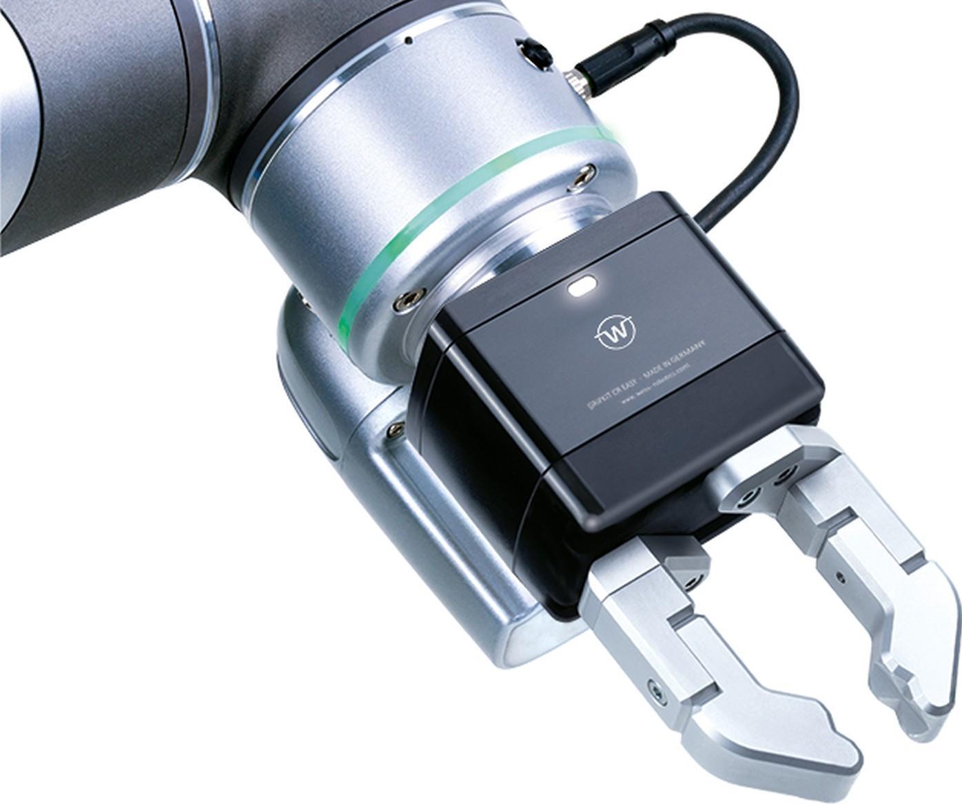 Mit CR Easy erweitert Weiss Robotics seine Gripkits um eine leistungsfähige Greiflösung für Cobots, die den Einstieg in die kollaborative Greiftechnik maßgeblich vereinfacht.