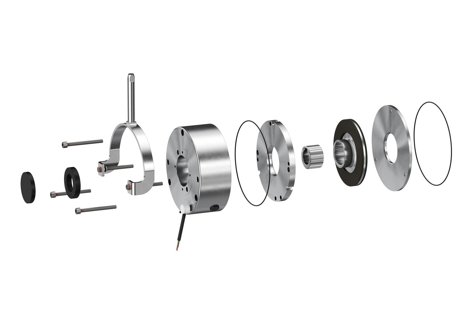 Bei der BFK470 von Intorq sorgt ein spezieller mechanischer Aufbau für erhöhte Maximalmomente und Langlebigkeit.
