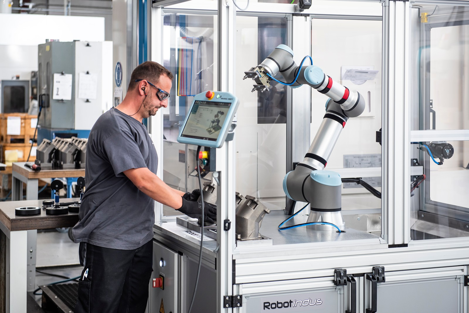 Der UR16E ist das neueste Mitglied der Cobot-Familie von Universal Robots.