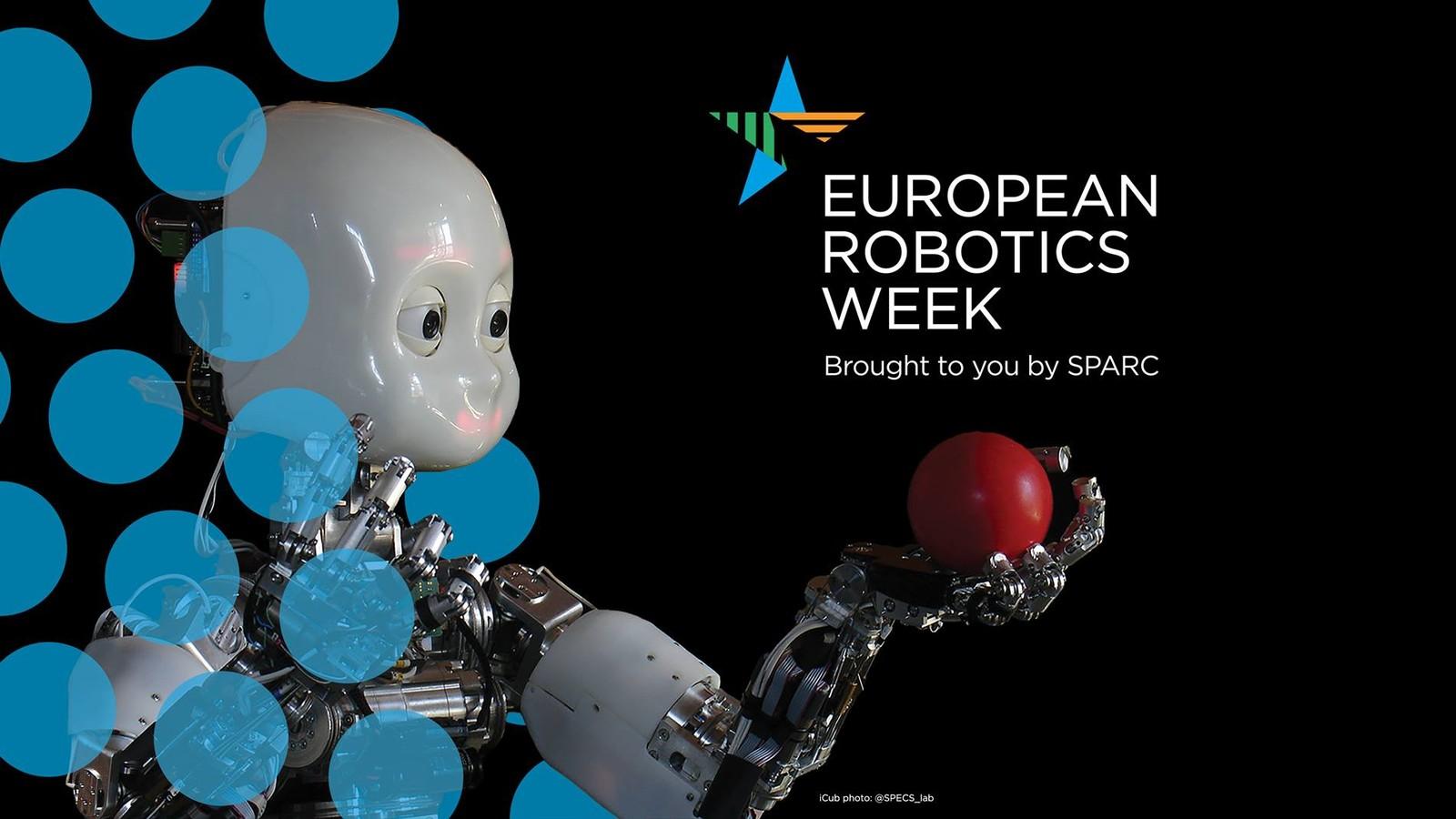 """Europäische Roboterwoche 2019: Kuka präsentiert einen Vortrag von Dr. Christian Liedtke zum Thema """"Die Wahrheit über Industrie 4.0""""."""