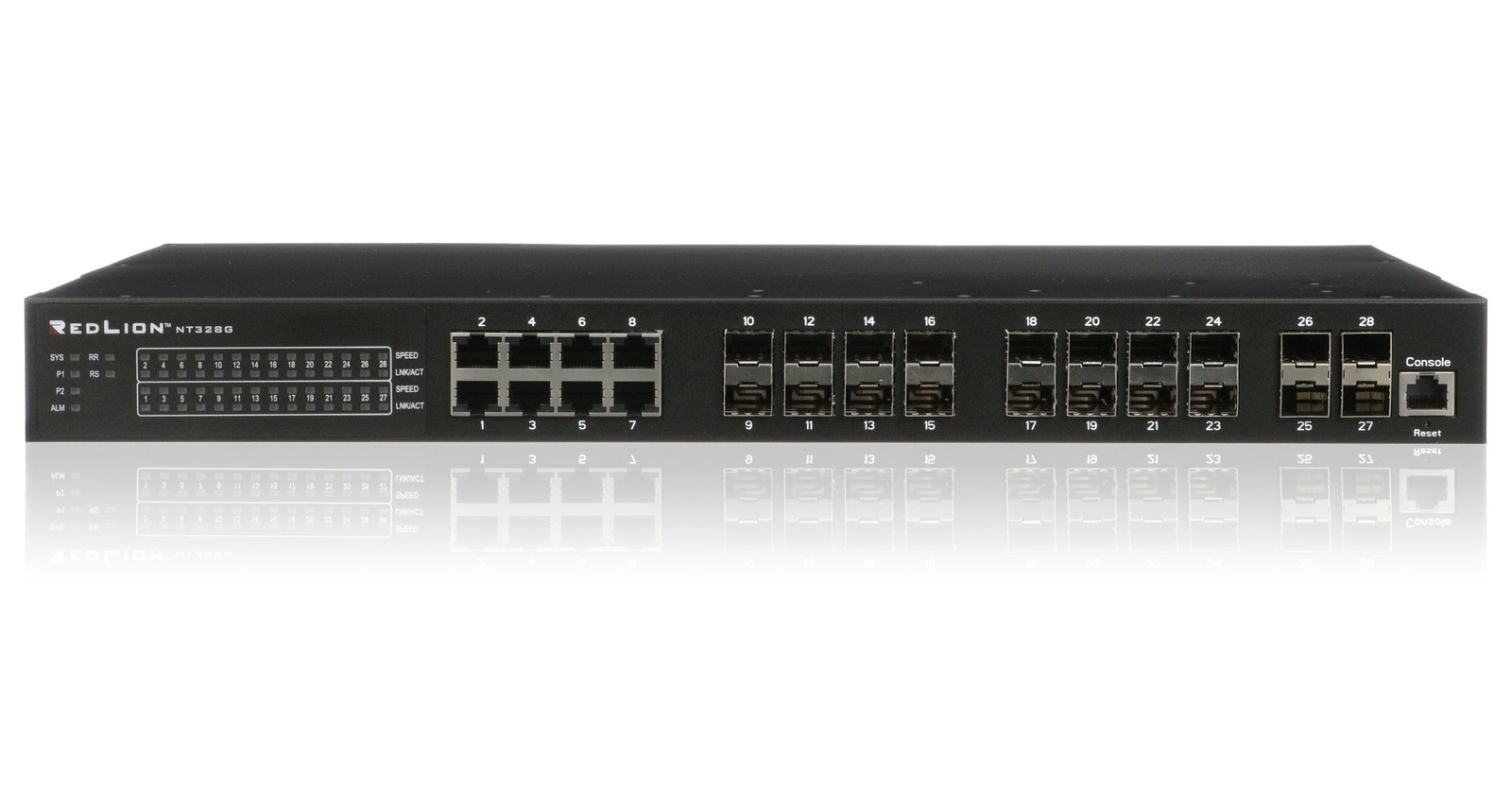 Red Lion stellt den neuen Layer 3-Gigabit-Ethernet-Switch vor.