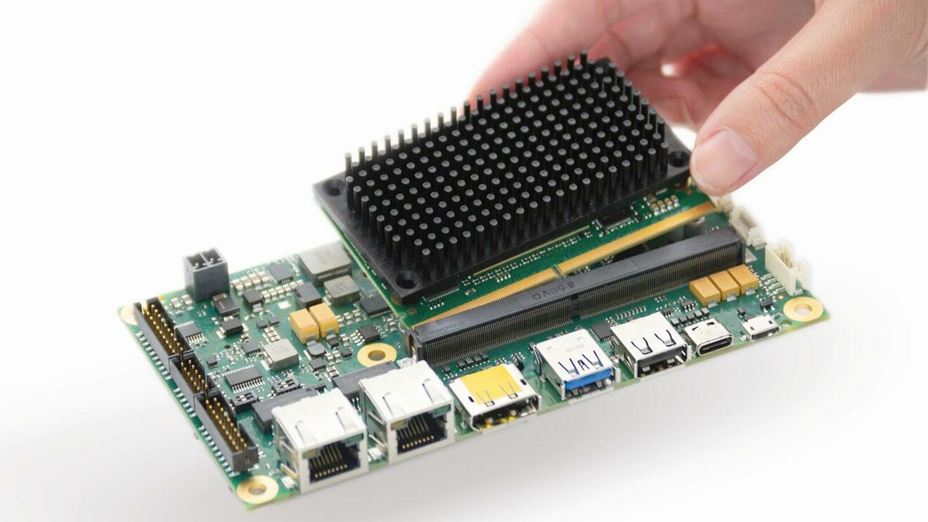 Smarc-Module in Embedded-Anwendungen flexibel kühlen