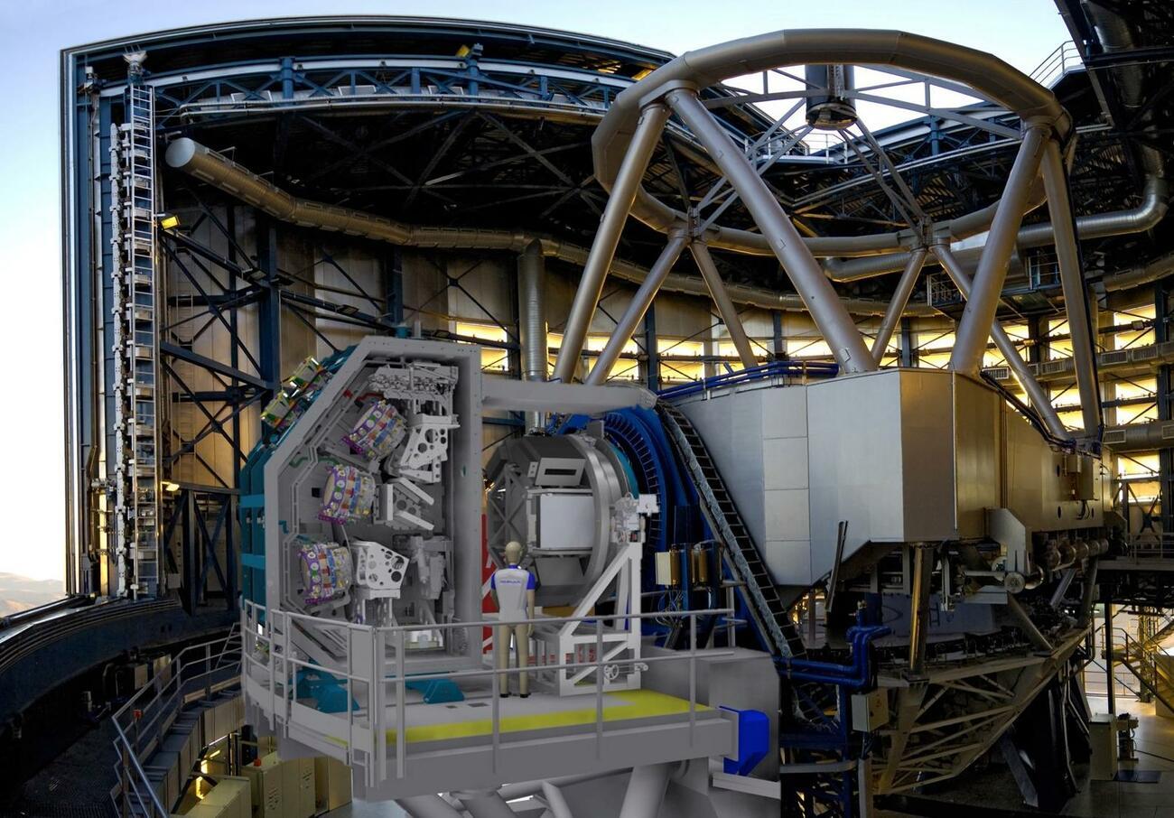 Schrittmotoren für 3D-Vermessung der Milchstraße