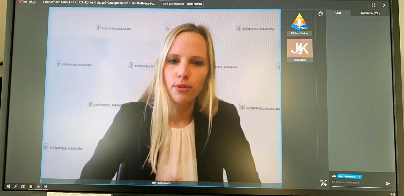 Pöppelmann: Kreislaufkonzepte und Schäumverfahren für die Automobilindustrie