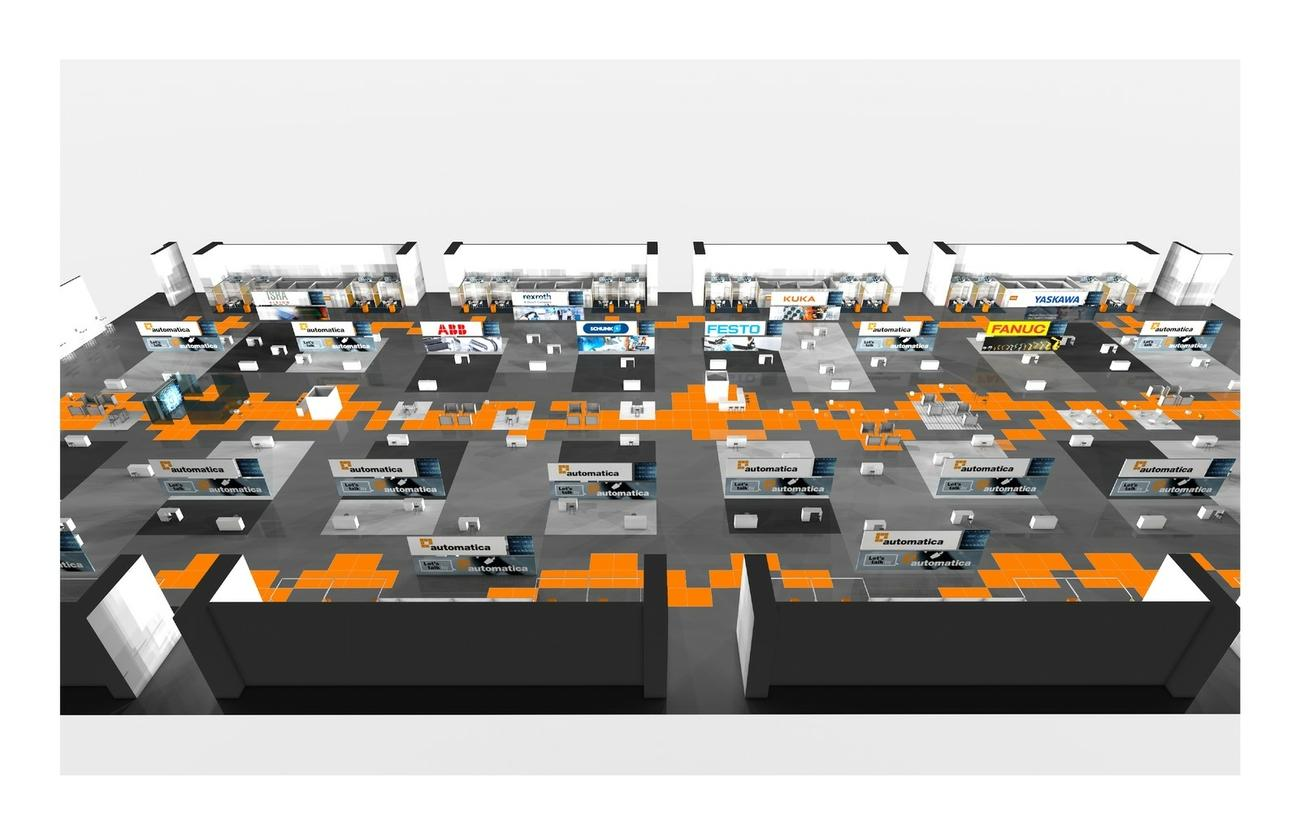 Automatica Sprint: ein neues Messeformat für 2021